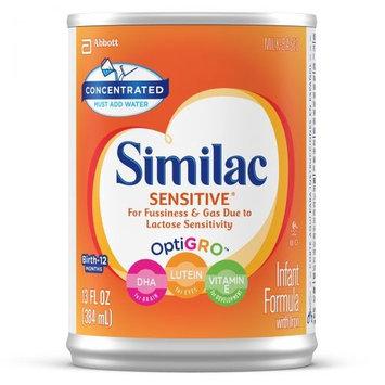 Similac® Sensitive® Concentrated Liquid Infant Formula