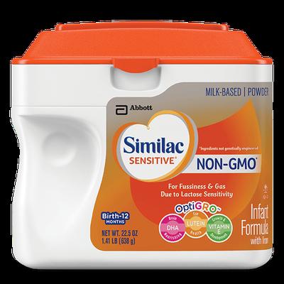 Similac® Sensitive® NON-GMO Infant Formula