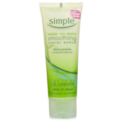 Simple Kind To Skin Smoothing Facial Scrub 75ml