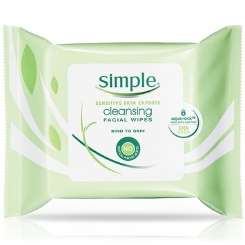 Simple® Skincare Cleansing Facial Wipes (New Formula)