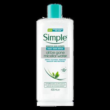 Simple Daily Skin Detox Oil Be Gone Micellar Water