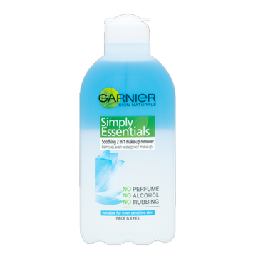 Garnier Skin Naturals Simply Essentials Soothing 2-In-1 Make-Up Remover