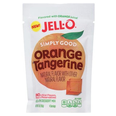 JELL-O Simply Good Orange Tangerine Gelatin Dessert Mix