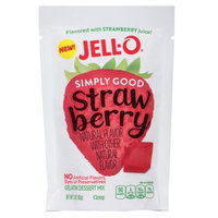 JELL-O Simply Good Strawberry Gelatin Dessert Mix