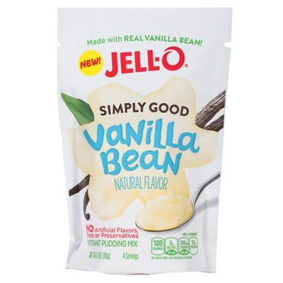 JELL-O Simply Good Vanilla Bean Instant Pudding Mix