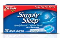 Tylenol® PM Simply Nighttime and Sleep Aid Caplets