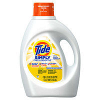 Tide Simply Free & Sensitive Liquid Laundry Detergent
