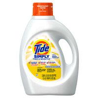 Tide Simply Free & Sensitive Liquid Laundry Detergent