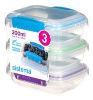 Sistema 200ML 3 Pack