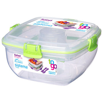 Sistema Klip It Salad-To-Go Container