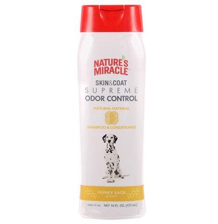 Nature's Miracle® Skin & Coat Supreme Odor Control - Oatmeal Shampoo & Conditioner