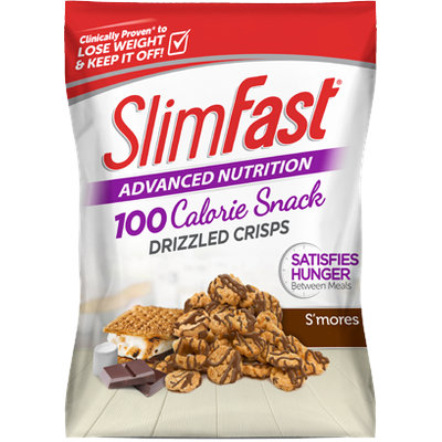 SlimFast Advanced Nutrition S'mores Swirl Drizzled Crisps