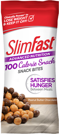 SlimFast Advanced Nutrition peanut butter chocolate snack bites