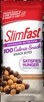SlimFast Advanced Nutrition peanut butter chocolate snack bites