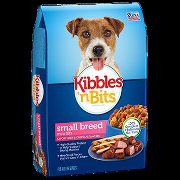 Kibbles n' Bits Small Breed Mini Bits Savory Beef & Chicken Flavor Dog Food