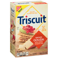 Nabisco Triscuit - Cracker - Baked Whole Grain Wheat Smoked Gouda