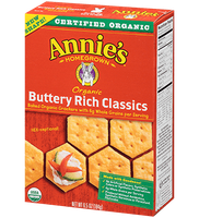 Annie's® Homegrown Organic Buttery Rich Classics Crackers