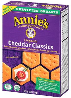Annie's® Homegrown Organic Bunny Classics Crackers