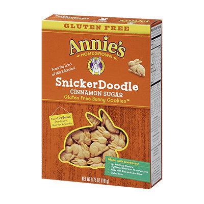 Annie's®  Gluten Free Snicker Doodle Bunny Cookies