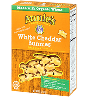 Annie's® Homegrown White Cheddar Bunnies Baked Snack Crackers