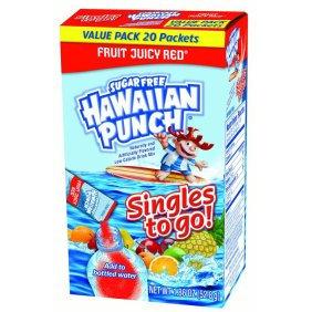 Hawaiian Punch Fruit Juicy Red Singles To Go