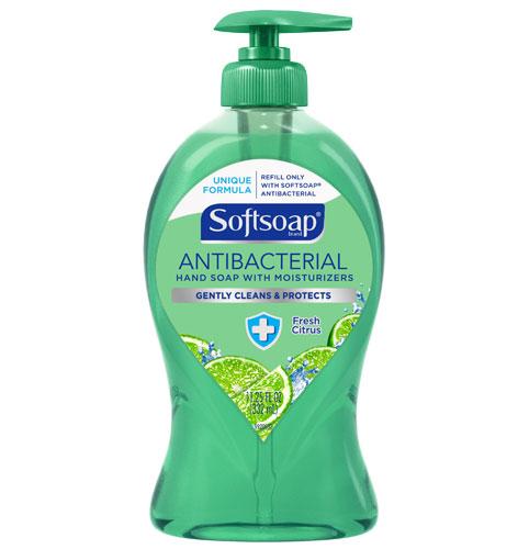 Softsoap® Fresh Citrus Antibacterial Liquid Hand Soap