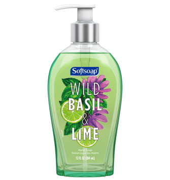Softsoap® Liquid Hand Soap, Wild Basil and Lime