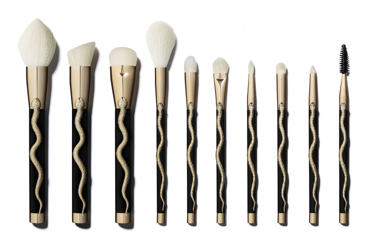 Slide: Sonia's Serpent 10-Piece Brush Set