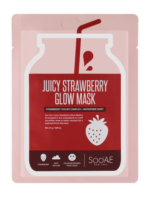 SOO'AE Juicy Strawberry Glow Mask
