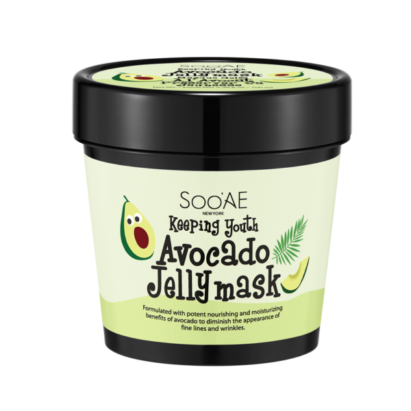 Soo'AE Keeping Youth Avocado Jelly Mask