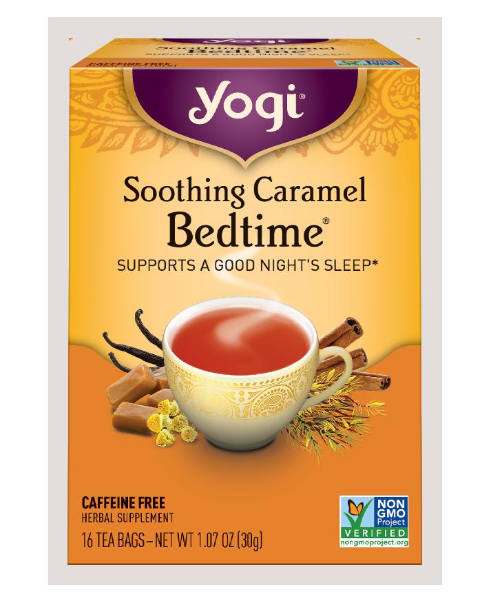 Yogi Tea Herbal Tea Soothing Caramel Bedtime