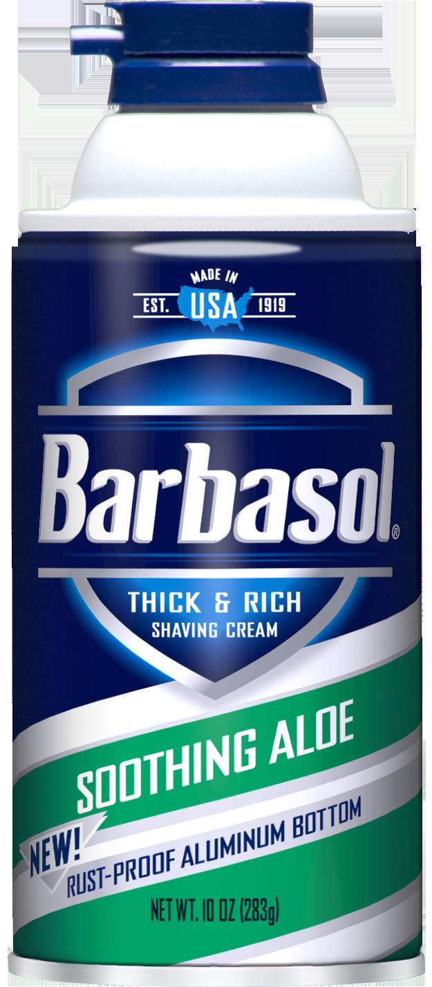 Barbasol Soothing Aloe Shaving Cream