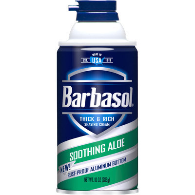Barbasol Soothing Aloe Shaving Cream