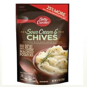 Betty Crocker™ Sour Cream & Chives Mashed Potatoes