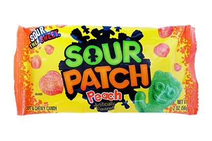 Sour Patch Peach Candy