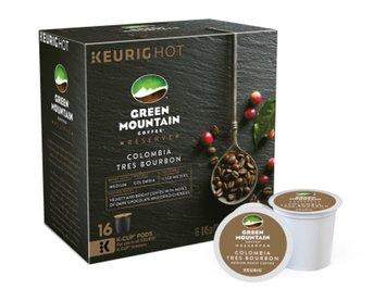 Keurig Green Mountain Colombia Tres Bourbon Coffee