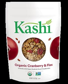 Kashi® Organic Promise Cranberry, Spelt And Flax Granola