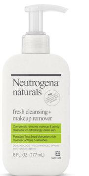 Neutrogena® Neutrogena® Naturals Fresh Cleansing + Makeup Remover