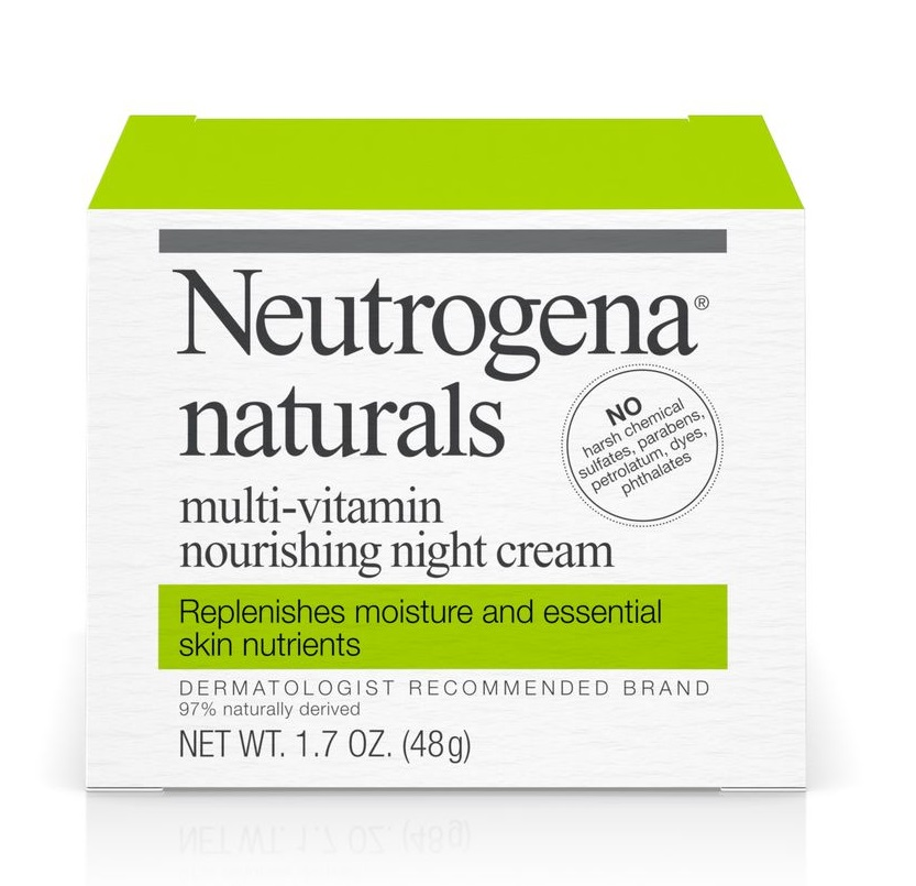 Neutrogena® Naturals Multi-Vitamin Nourishing Night Cream
