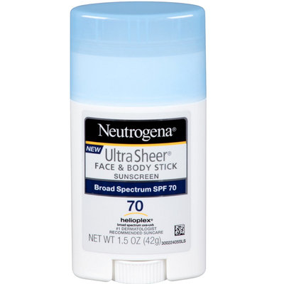 Neutrogena® Ultra Sheer Sunscreen Stick - SPF 70