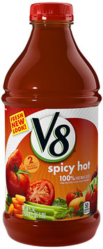 V8® 100% Spicy Hot Vegetable Juice