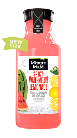Minute Maid® Spicy Watermelon Lemonade