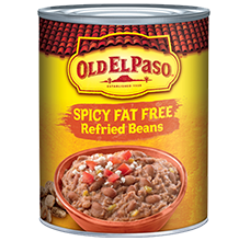 Old El Paso® Spicy Fat Free Refried Beans