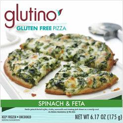 Glutino Gluten Free Spinach & Feta Pizza