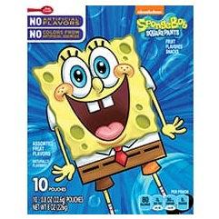 Betty Crocker™ SpongeBob SquarePants Fruit Flavored Snacks