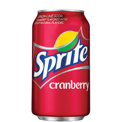 Sprite Cranberry Lemon-Lime Soda Cranberry Flavored with Other Natural Flavors