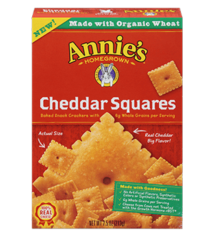 Annie's® Cheddar Squares