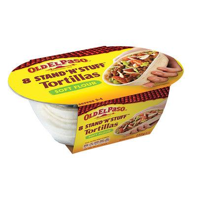 Old El Paso® Stand 'N' Stuff™ Soft Flour Tortillas