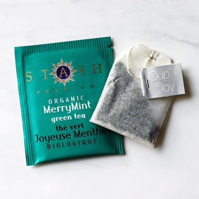 Stash Tea Merry Mint Organic Green Tea