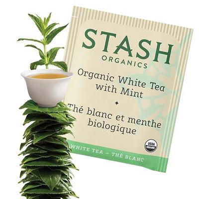 Stash Tea Organic Tea White Tea with Mint